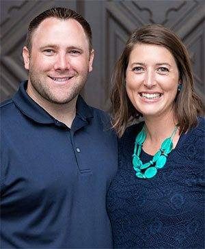Dr. Brian Pfister and wife